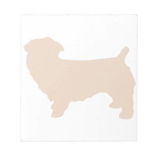 glen of imaal terrier silo wheaten notepad