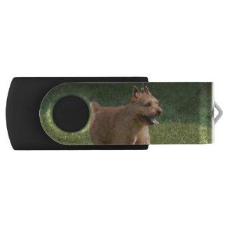 Glen of Imaal Terrier Swivel USB 2.0 Flash Drive