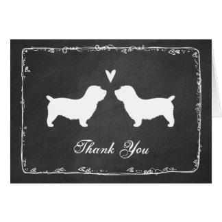 Glen of Imaal Terriers Wedding Thank You Card