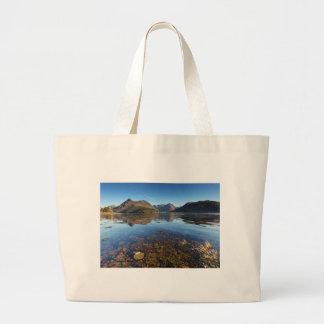 Glencoe and Ballachulish, Scotland Large Tote Bag