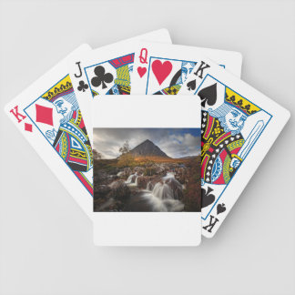 Glencoe, Buchaille Etive Mor, Scotland Bicycle Playing Cards