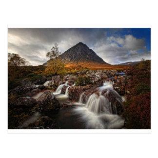 Glencoe, Buchaille Etive Mor, Scotland Postcard