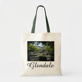 Glendale, California Adams Square Tote Bag