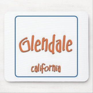 Glendale California BlueBox Mouse Pad