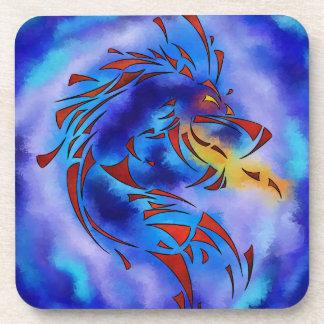 Glenfbach V1 - mystic dragon Beverage Coasters