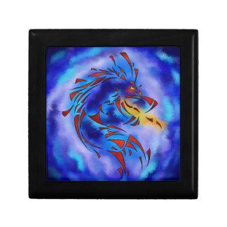 Glenfbach V1 - mystic dragon Small Square Gift Box