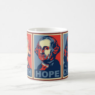 Glenn Beck faith hope charity mug