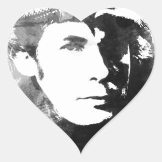 Glenn Gould Heart Sticker