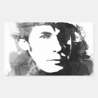 Glenn Gould Rectangular Sticker