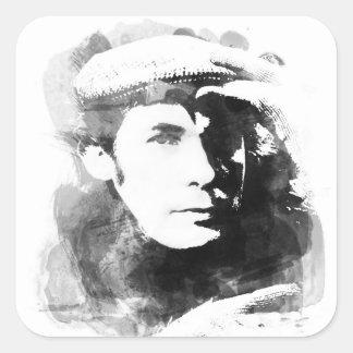 Glenn Gould Square Sticker