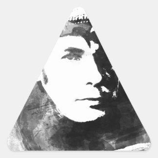 Glenn Gould Triangle Sticker