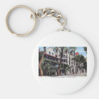 Glenwood Mission Inn, Riverside CA Vintage Key Ring