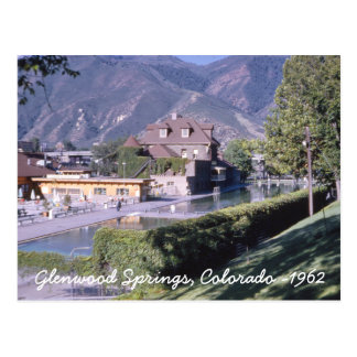 Glenwood Springs Colorado Postcard