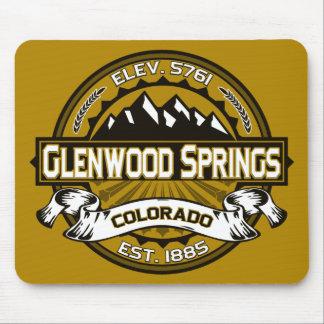 Glenwood Springs Mousepad Gold