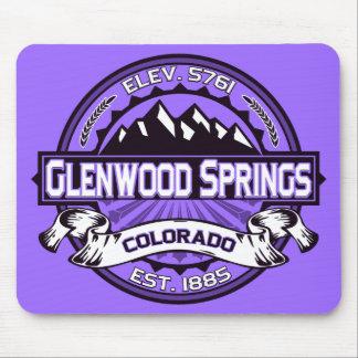 Glenwood Springs Mousepad Purple