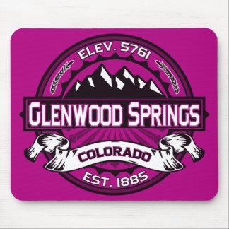 Glenwood Springs Mousepad Raspberry
