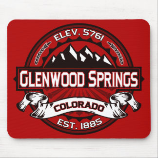 Glenwood Springs Mousepad Red