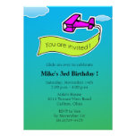Glider -Birthday Party Invitation