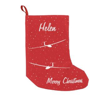 Glider Small Christmas Stocking