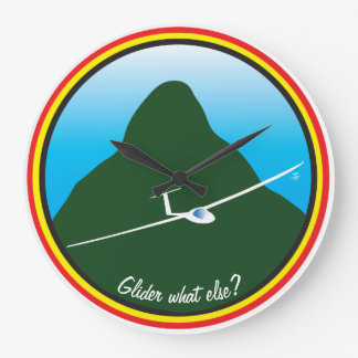 Glider - What else? Wallclock