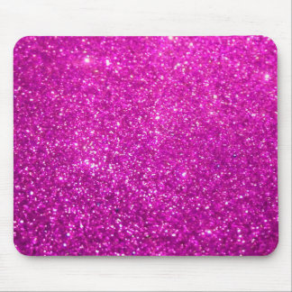 Glimmer Purple Shiny Mouse Pad