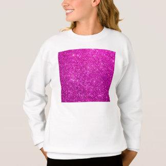 Glimmer Purple Shiny Sweatshirt