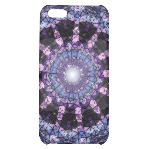 Glimmer Starz iPhone4 Case Case For iPhone 5C