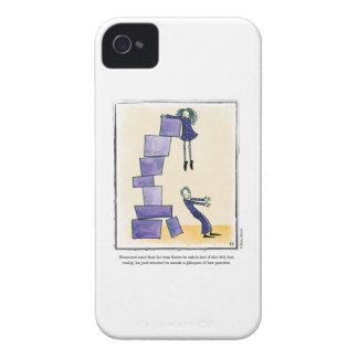 GLIMPSE cartoon by Ellen Elliott Case-Mate iPhone 4 Cases