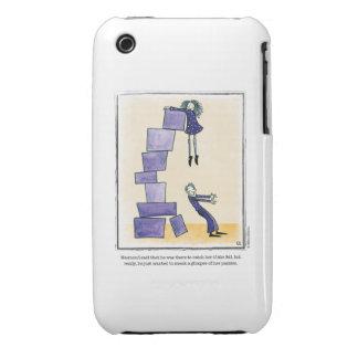 GLIMPSE cartoon by Ellen Elliott iPhone 3 Case