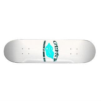Glint Radioactive Gloss 18.1 Cm Old School Skateboard Deck