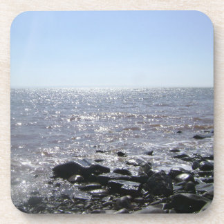 """""""Glistening Waters"""" Bay of Fundy Drink Coaster"""