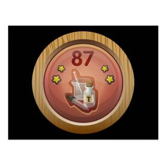 Glitch: achievement dandy tincturer post card