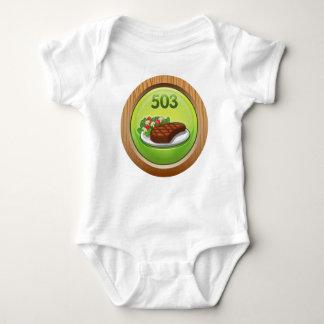Glitch Achievement noted epicure Baby Bodysuit