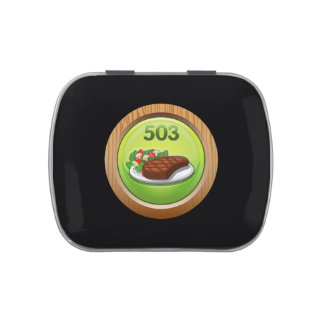 Glitch Achievement noted epicure Jelly Belly Tin