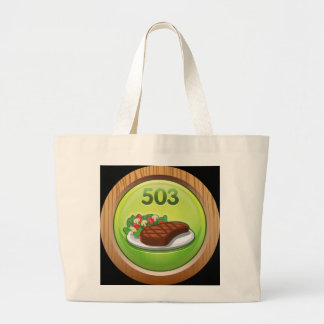 Glitch Achievement noted epicure Jumbo Tote Bag
