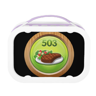 Glitch Achievement noted epicure Lunchboxes
