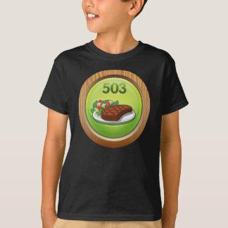 Glitch Achievement noted epicure T-Shirt