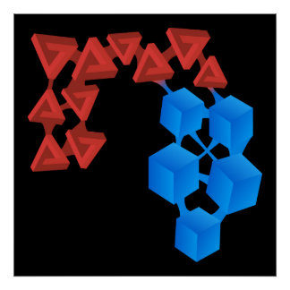 Glitch: compounds friendly acid print