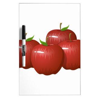 Glitch Food apple Dry Erase Board