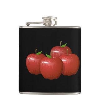 Glitch Food apple Hip Flask