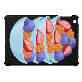 Glitch Food berry bowl Cover For The iPad Mini