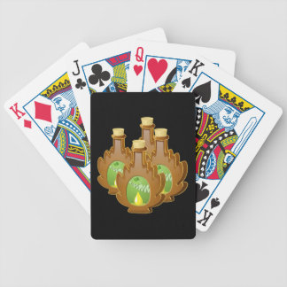 Glitch Food birch syrup Bicycle Playing Cards