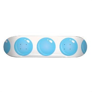 Glitch Food blue bubble 21.6 Cm Skateboard Deck