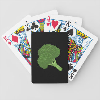 Glitch Food broccoli Bicycle Playing Cards