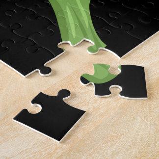 Glitch Food broccoli Jigsaw Puzzle
