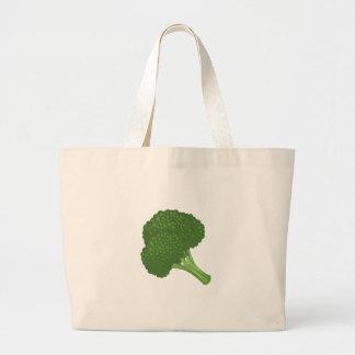 Glitch Food broccoli Large Tote Bag