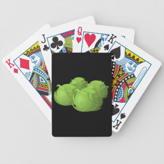Glitch Food cabbage Bicycle Playing Cards