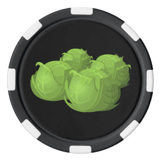 Glitch Food cabbage Poker Chips