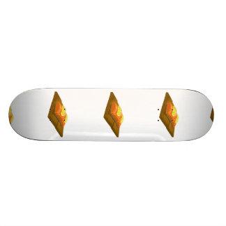 Glitch Food cedar plank salmon Skateboard Deck