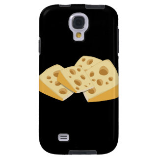 Glitch Food cheese Galaxy S4 Case